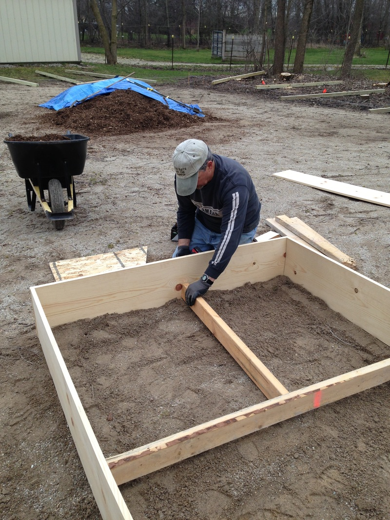 How to Build Raised Garden Beds - Green Willow Homestead