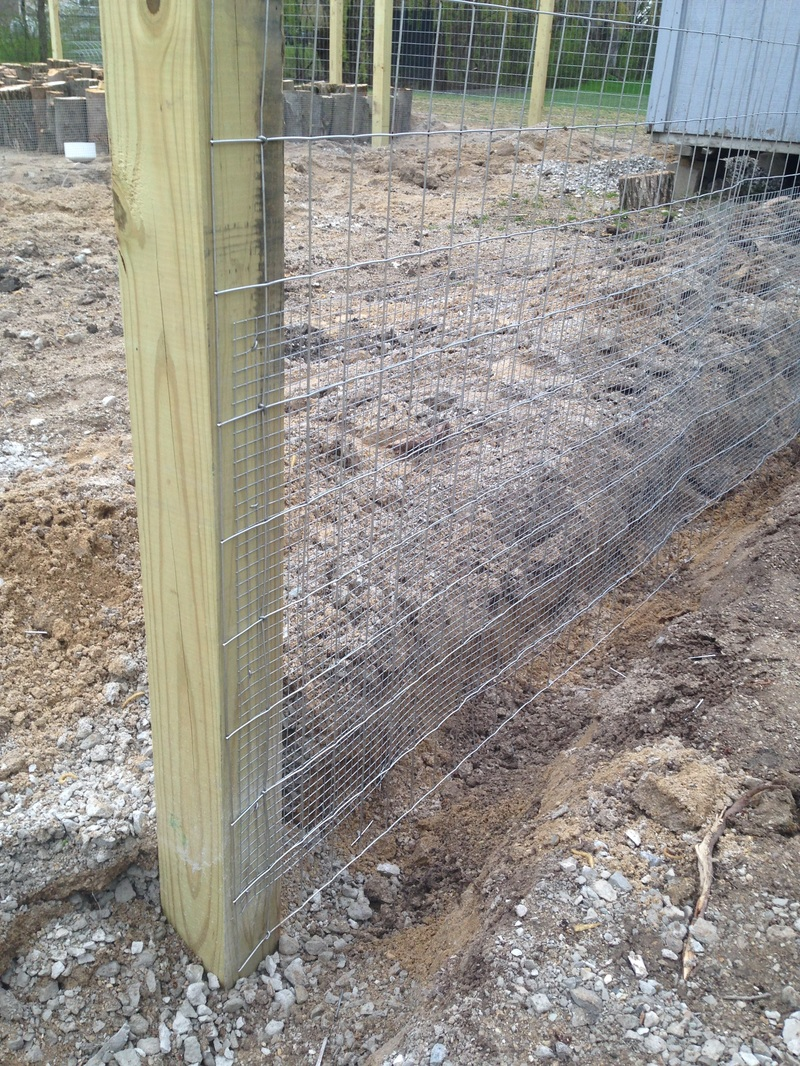 How to install galvanized fencing
