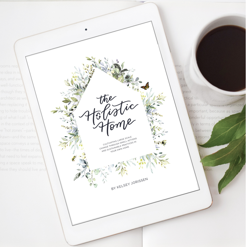 The Holistic Home ebook can be read on any digital device