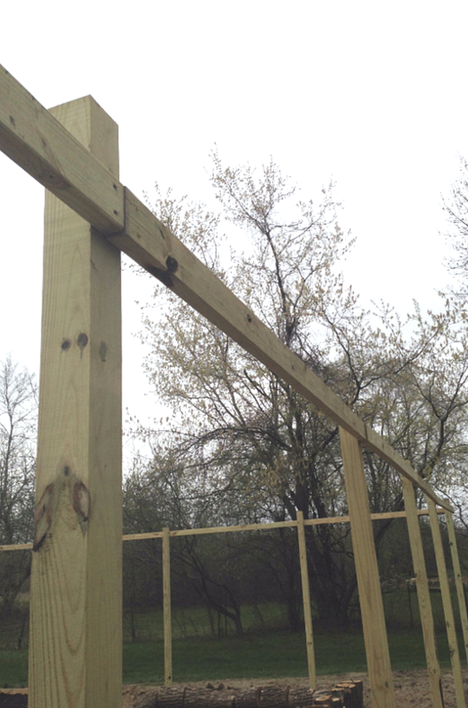 How to keep fence posts level when installing