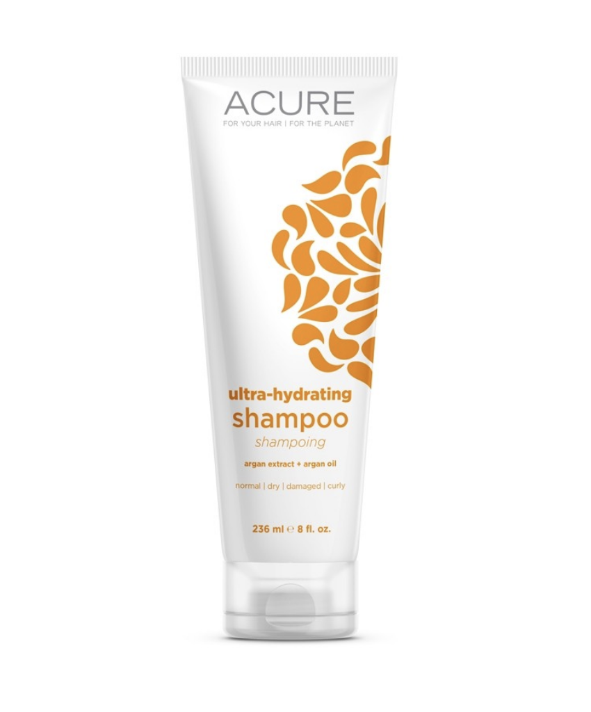 Acure is a great natural shampoo option