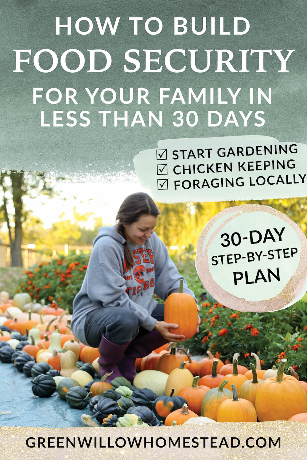 How to build food security for your family in less than 30 days