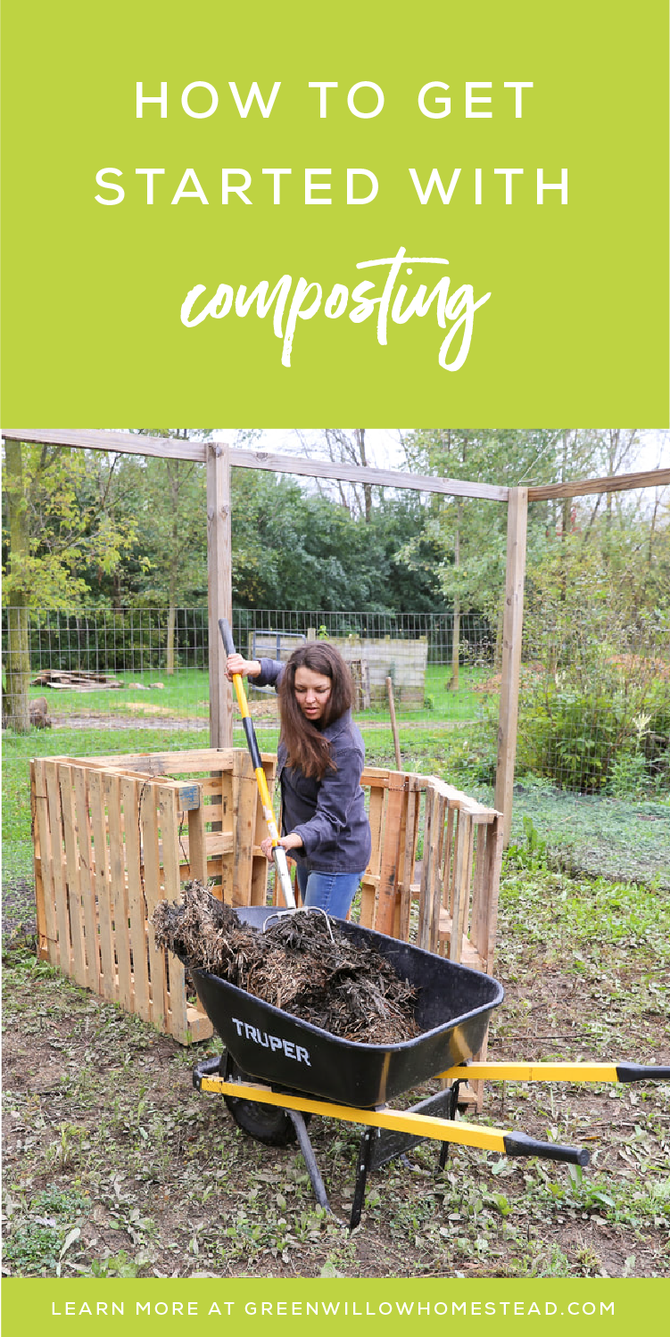 how to get started with composting - positively green podcast