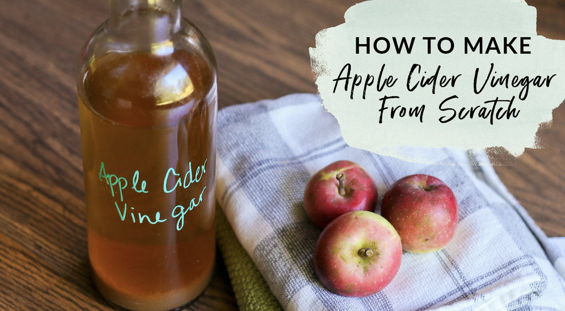 How to make apple cider vinegar from scratch