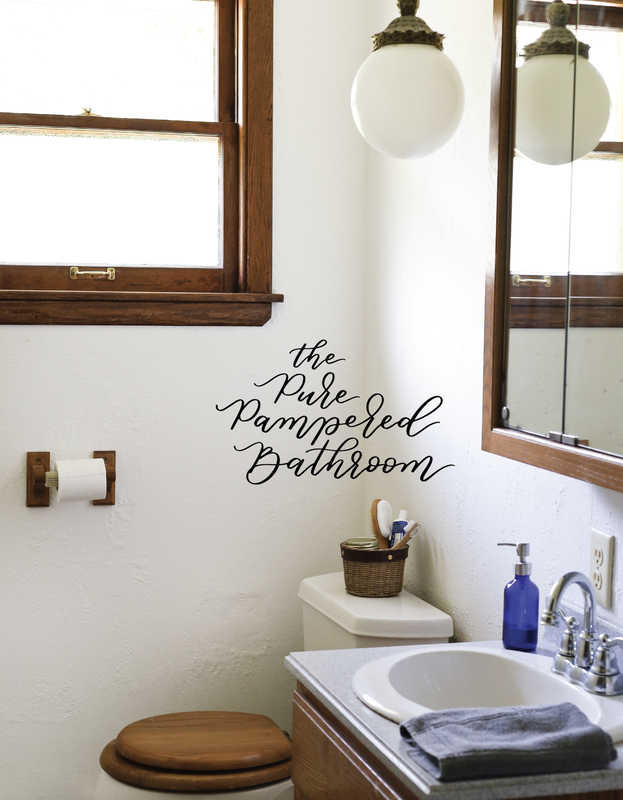 The Holistic Home The Pure Pampered Bathroom Chapter by Kelsey Jorissen