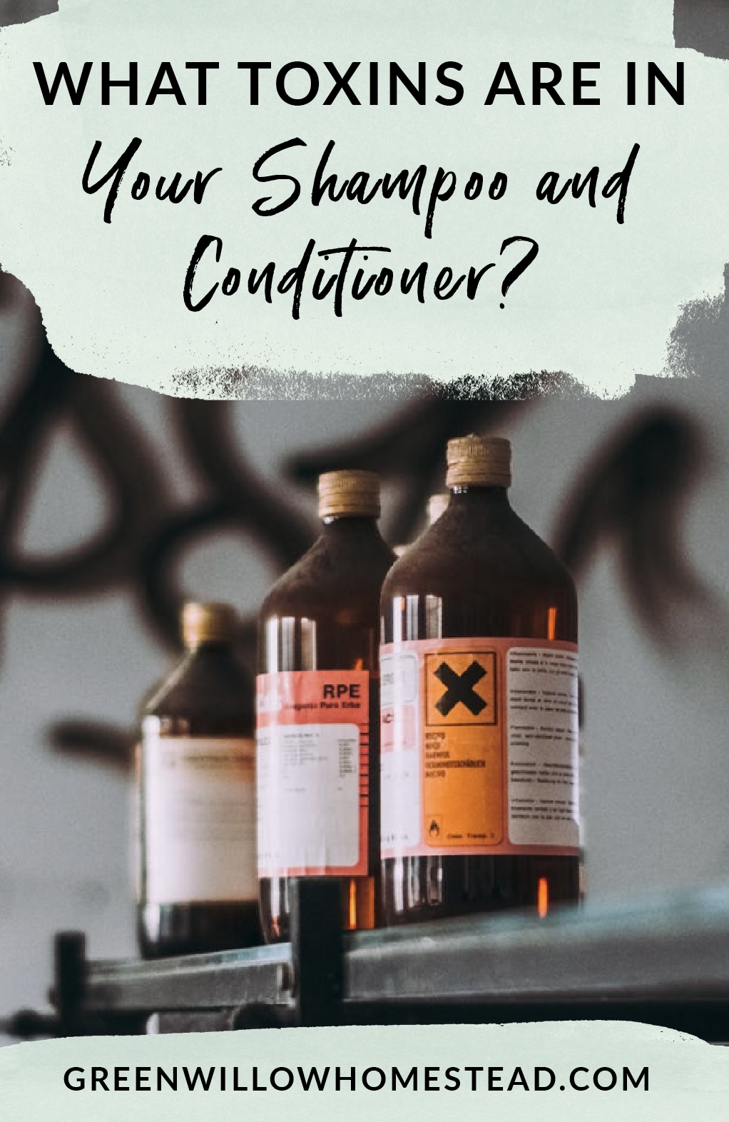 What toxins are in shampoo and conditioner and should you be concerned?